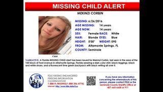 Florida Missing Child Alert issued for Altamonte Springs teen
