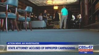 State attorney accused of improper campaigning by former prosecutor