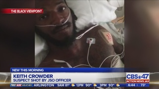 Suspect shot by JSO officer at traffic stop describes incident