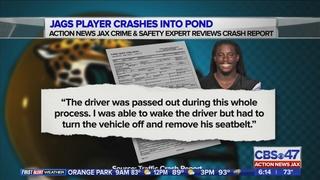 Jacksonville Jaguars RB Denard Robinson speaks about retention pond crash