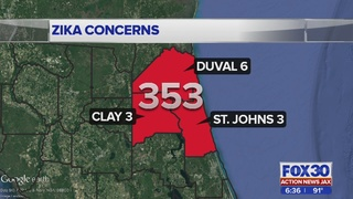 Zika concerns grow, another case added to Northeast Florida