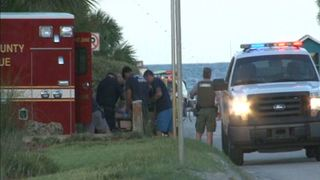 Beachgoers pull man from water in St. Augustine