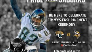 Former Jags wide receiver to be inducted into Pride of the Jaguars