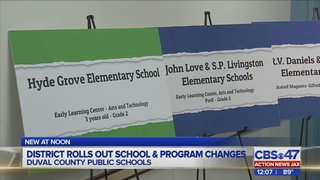 New schools, programs announced by Duval County Schools