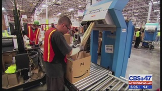 Amazon to bring 1,500 jobs to Jacksonville