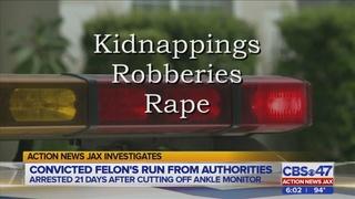 Dangerous fugitive eludes capture for 21 days