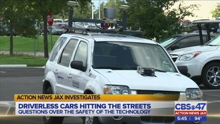 Action News Jax Investigates: Driverless car technology in Florida
