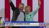 Tim Kaine to address the DNC