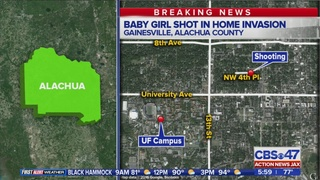 Father killed while holding baby in home invasion