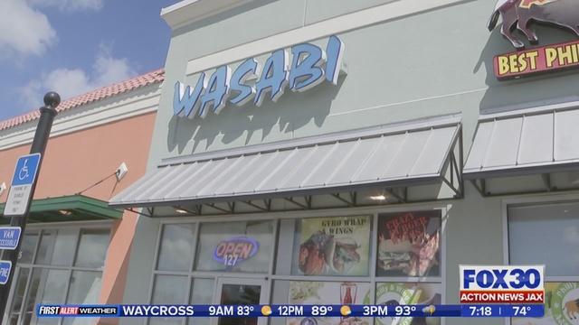 Sushi Restaurant At River City Marketplace Shut Down Wjax Tv