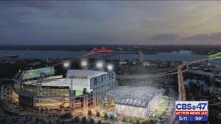 City leaders, Jaguars break ground on amphitheater, covered flex field