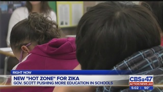 Gov. Scott pushing for more Zika education in schools