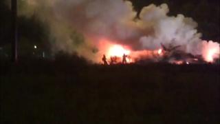 Man killed in crash involving semi-truck fire on I-95 in St. Augustine