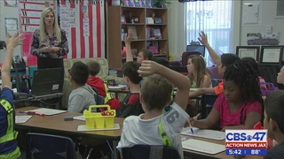 Jacksonville elementary school teacher receives highest honor from…