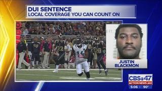 Suspended Jaguars WR Justin Blackmon sentenced for DUI