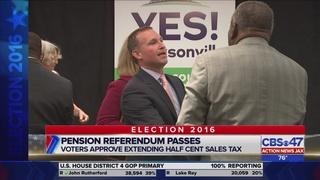 Landslide victory for Jacksonville mayor