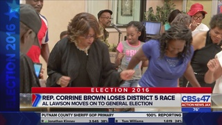 Rep. Corrine Brown declines to discuss federal indictment after loss of…