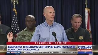 Jacksonville senior living center at risk of flooding during Tropical…