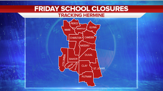 Hurricane Hermine: School closures and cancellations