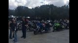 MAD DADS traded its usual walk for a motorcycle ride Saturday in an effort to raise awareness for victims of unsolved crimes in Jacksonville.
