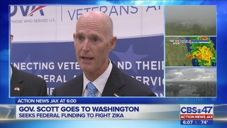Gov. Rick Scott heads to DC to garner support for more funding to fight Zika