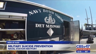 Navy highlighting its counseling services for sailors during Suicide…