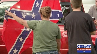 Clay high school student told to take Confederate flag off truck