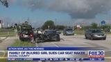 Family of injured child suing car seat maker