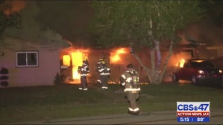 One injured in St. Johns County house fire