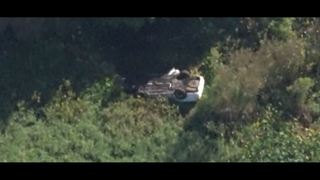 Body found in overturned car on bank of St. Johns River