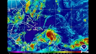 Tropical storm in Caribbean expected to become hurricane