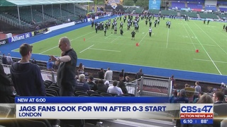 Jags fans look for win in London after 0-3 start