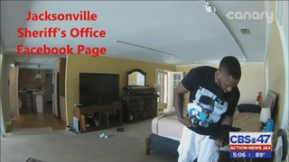 Man identified in high-quality Jacksonville burglary video arrested