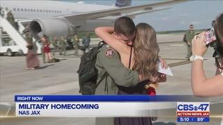 Military homecoming at NAS Jax