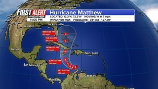 Hurricane Matthew upgraded to Category 5 storm