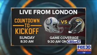 Jaguars prepare to take on Colts in London