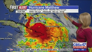 Hurricane watch issued for St. Johns, Duval, Nassau, Putnam and Clay
