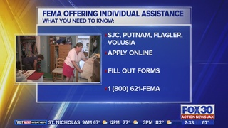 St. Johns, Putnam and Glynn counties eligible for FEMA Individual…