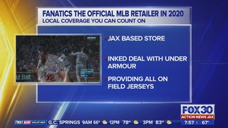 Jacksonville-based company to become official retailer of Major League Baseball