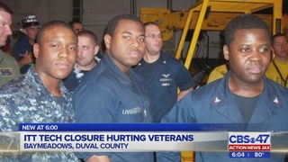 Local veteran using GI Bill benefits left in limbo after ITT Tech closure