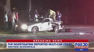 Children reportedly hurt in crash in Jacksonville