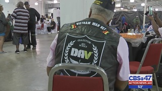 Resource fair held for homeless, struggling veterans in Jacksonville