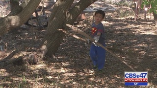 4-year-old helps St. Augustine families recover after Hurricane Matthew