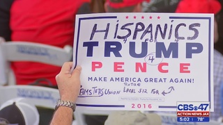 Trump to St. Augustine rally: 'Leave here and vote