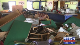 Customers raise money for employees of destroyed St. Johns County…
