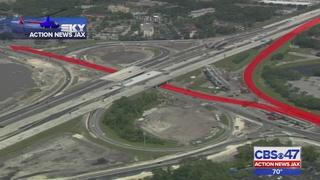 Traffic detours begin Wednesday JTB and I-95 interchange