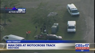 Man dies after dirt bike crash at motocross track in Jacksonville