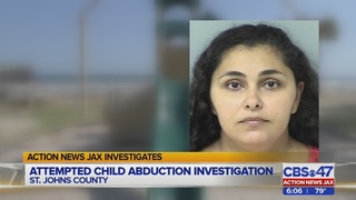 ACTION NEWS JAX INVESTIGATES: ATTEMPTED CHILD ABDUCTION INVESTIGATION
