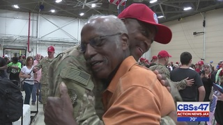 Families reunited with Air National Guard members in Jacksonville