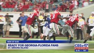 READY FOR GEORGIA-FLORIDA FANS
